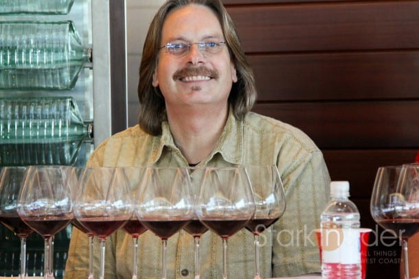 The man. Bob Cabral, aka Prince of Pinot, hosted an unforgettable RRV tasting at Williams Selyem.