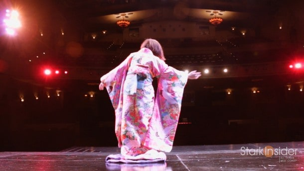 Life. Truly stranger than fiction. Loni Stark performing the lead role in Madama Butterfly at Opera San Jose.