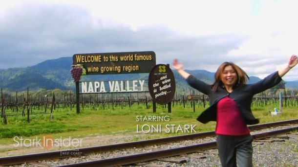 Napa Valley Welcome Sign - Highway 29 California