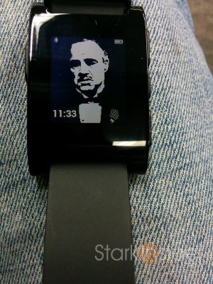 Pebble. Made be an offer I couldn't refuse.
