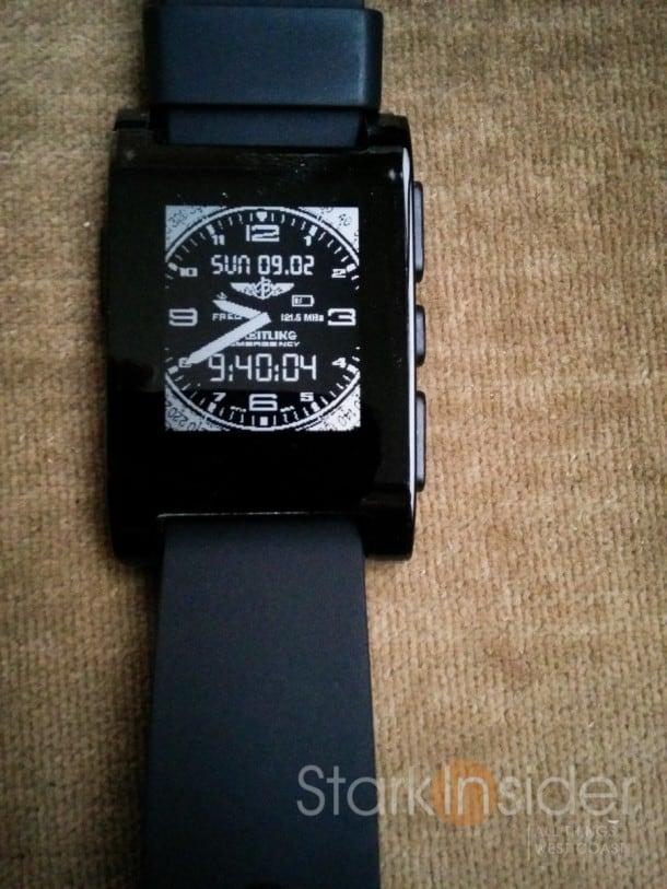 Brietling Watch - Pebble