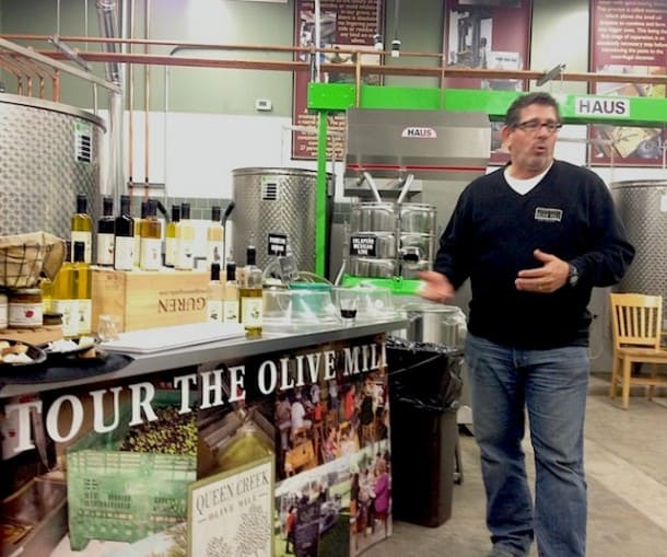 Queen Creek Perry Rea shares some olive oil know-how
