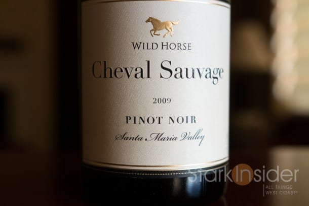 WIld Horse Cheval Sauvage Pinot Noir, Santa Marioa Valley (Review)