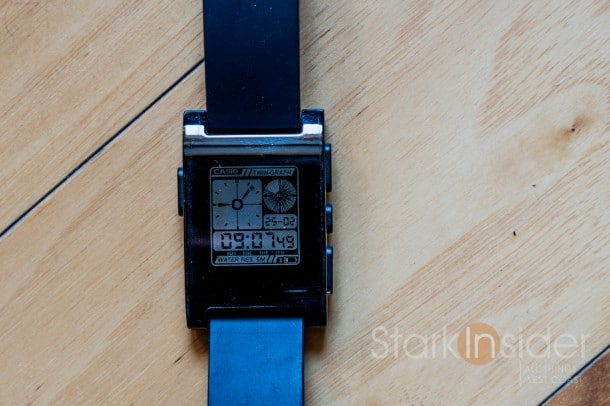 Casio AE-20W watchface for Pebble