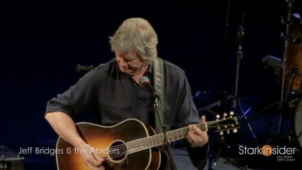 Jeff Bridges performs in Napa Valley with his band the Abiders.