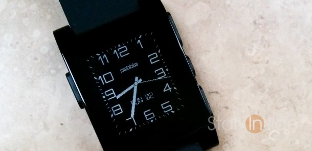 Pebble Watchface: Modern