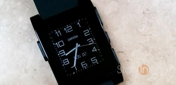 Pebble Watchface: Modern