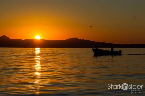 Sunrise over the Sea of Cortez, Baja California Sur, Mexico