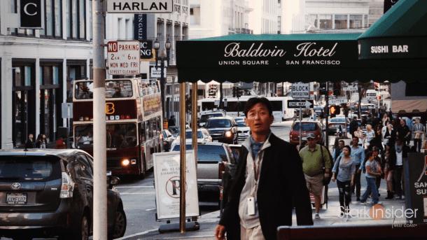 Baldwin Hotel, Union Square, San Francisco
