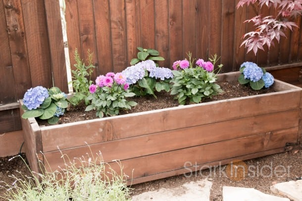 Backyard Garden Box Design looks like a nice garden idea for small backyardskind of incorporates square foot garden idea that i love gardening ideas Garden Box
