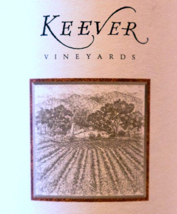 Keever-Cabernet-2011-Cabernet-Sauvignon-label