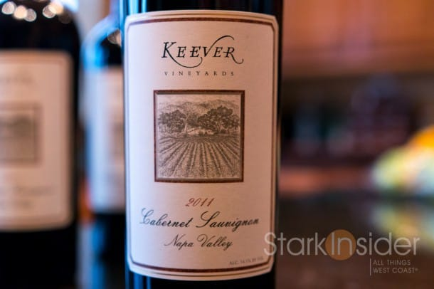 Keever Vineyards 2011 Cabernet Sauvignon, Napa Valley