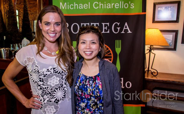 Natalie Coughlin at Michael Chiarello's inaugural Bottega Gran Fondo in Napa