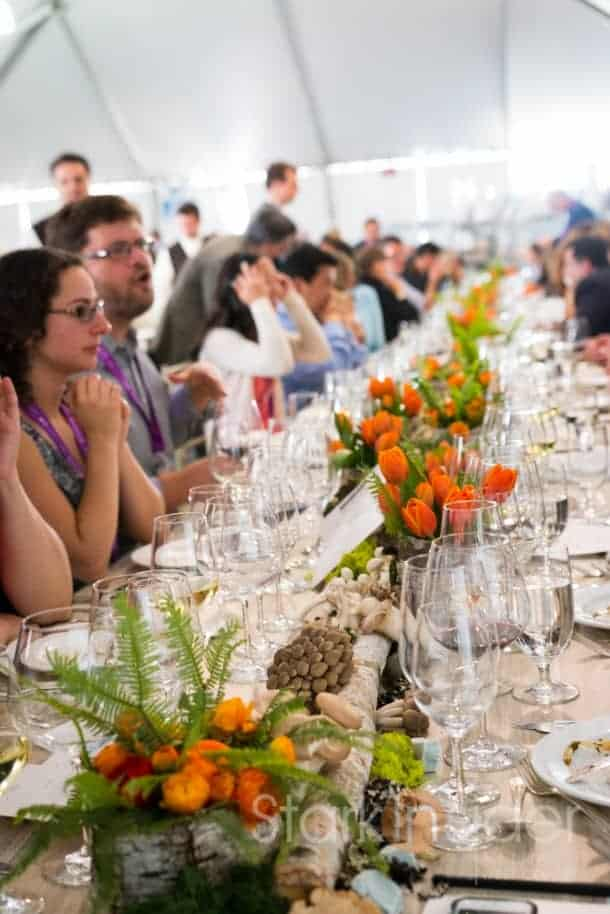 Gorgeously inspired tablescapes of a fantasy foraging expedition where food and wine fairies grant our every whim. This is Pebble Beach Food & Wine after all!