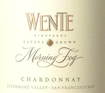 Wine Review: Wente 2012 Morning Fog Chardonnay, Livermore