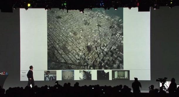 Google Glass Live Demo at Google I/O