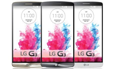 LG G3 bezel