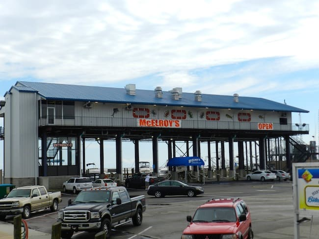 McElroy's -Newly rebuilt on stilts after Katrina