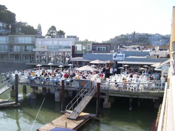 Sam's Anchor Cafe, Tiburon