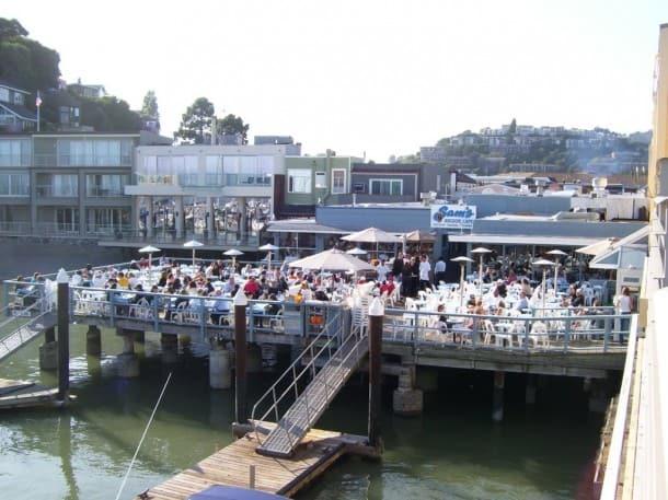 Sam's Anchor Cafe, Tiburon
