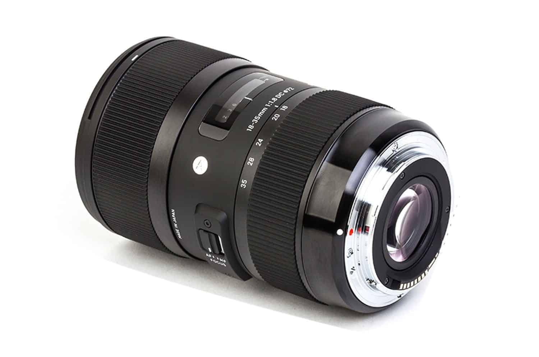 Lens Canon 35mm F1.8 Sigma 18-35mm F1.8 dc Hsm Lens