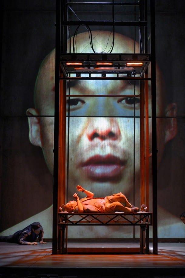 Julius Ahn in STUCK ELEVATOR at A.C.T.