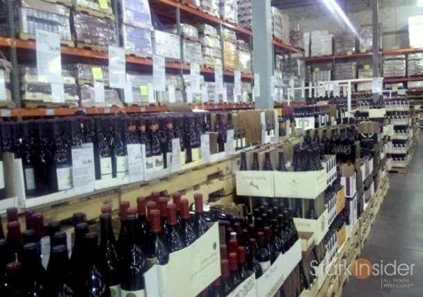 Costco Wine Selection