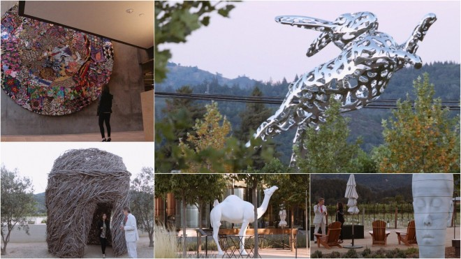 Hall Wines Art Tour - Napa Valley (Video)