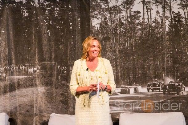 Sandra Button, Chairman of the Pebble Beach Concours d'Elegance