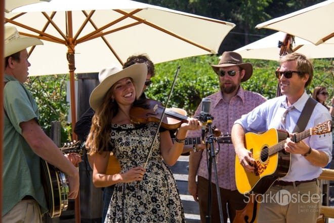The Whisky Richards delighted the Taste of Sonoma crowd at MacMurray Ranch.