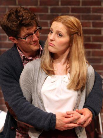 Liam (Max Rosenak) and his gentile girlfriend Melody (Riley Krull)