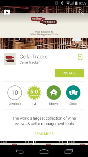 CellarTracker App Review