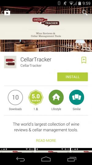 CellarTracker App Review