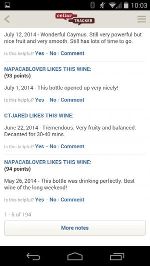 CellarTracker App Review - Wine Reviews