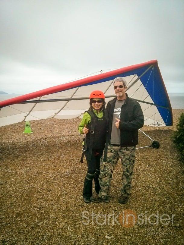 Loni Stark and John Simpson - California Hang Gliding