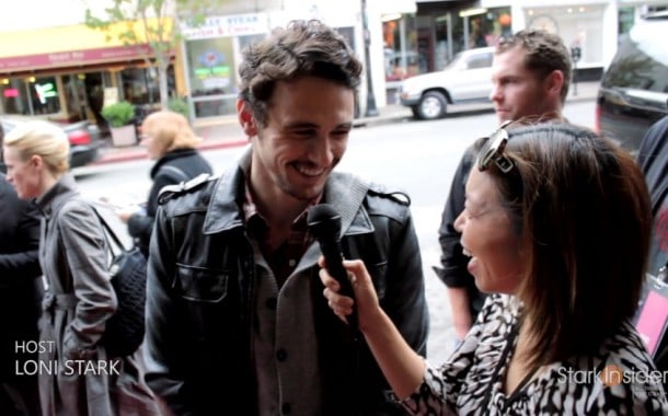 MVFF James Franco Interview - 127 Hours