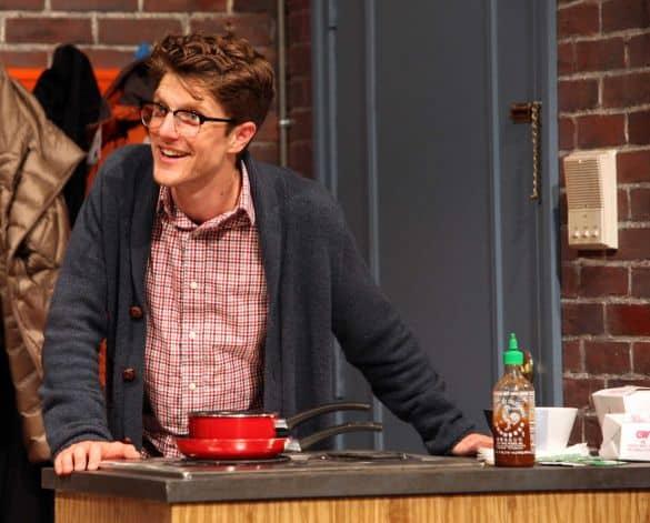 "Max Rosenak in Magic Theatre's production of ""Bad Jews"" (Photo: Jennifer Reiley)"