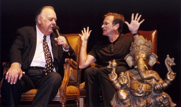 Robin Williams and Jonathan Winters at MVFF