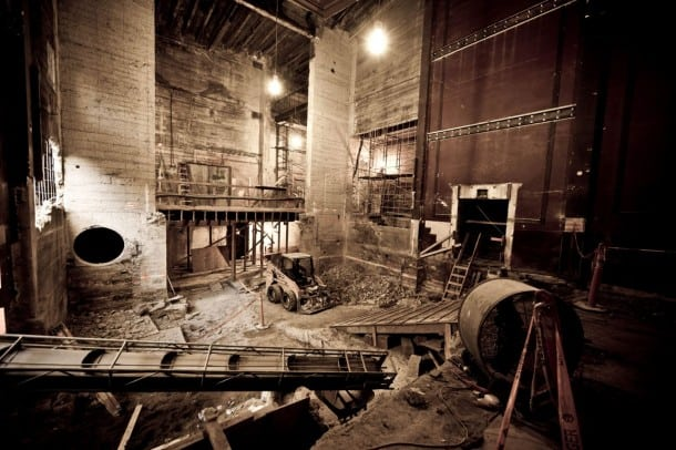 Strand Theater Renovation - A.C.T. - 2014