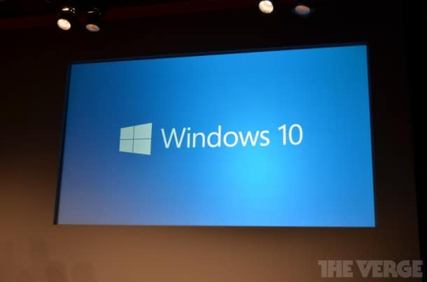 Windows 10 product preview - San Francisco