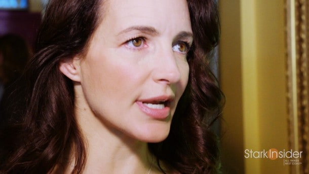 Actress Kristin Davis (Sex And The City) at Mill Valley Film Festival