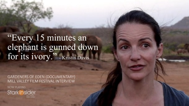 Kristin Davis Interview. Gardeners of Eden at Mill Valley Film Festival.