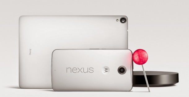 Nexus 6 made by Motorola