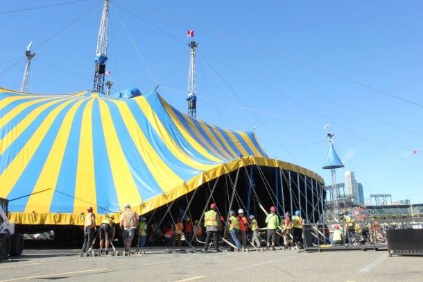Cirque du Soleil - AT&T Park Big Top, San Francisco