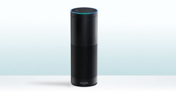 Amazon Echo intelligent speaker