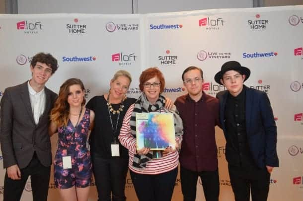 Bobbii Jacobs and Claire Parr with Echosmith