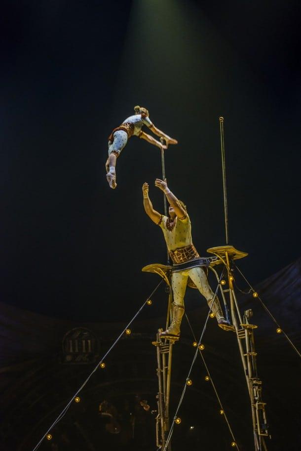 KURIOS by Cirque du Soleil at AT&T Park, San Francisco