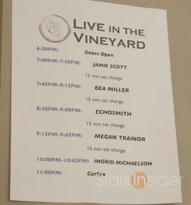 Live-in-the-Vineyard-set-list-2014