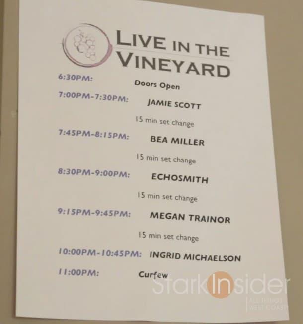 Live-in-the-Vineyard-set-list-2014