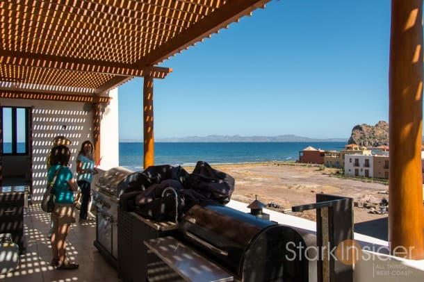 Loreto Bay View to the Sea of Cortez